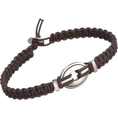 cord bead bracelet catherine zadeh macrame cord bracelet with silver oval