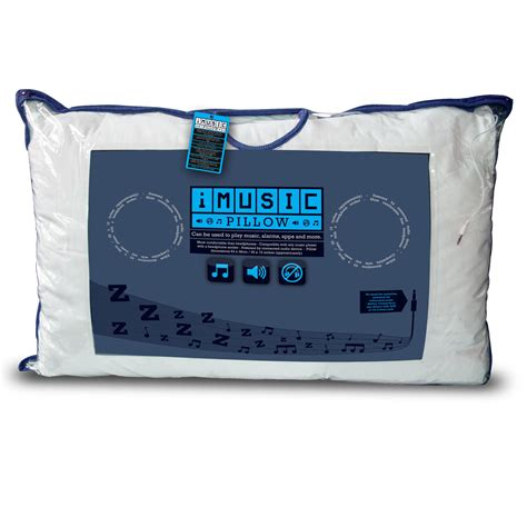 Mp3 Player Pillow by Pillow Cushion Built In Speakers Imusic Iphone Ipod