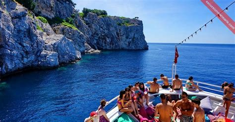 angel boat trip icmeler boat trips with lunch free hotel service