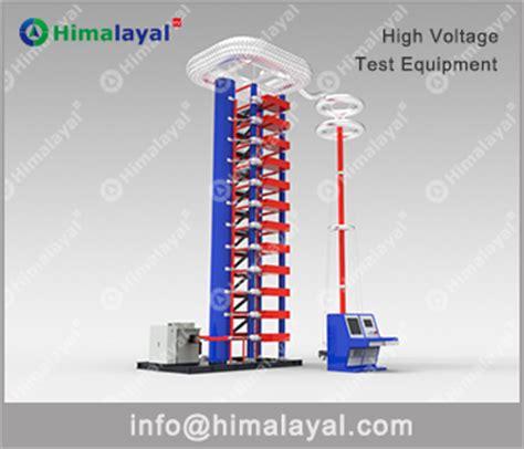 capacitor impulse test himalayal high voltage test system ac dc dielectric test set impulse voltage generator test