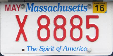 Ma Vanity Plate by Massachusetts 4 Y2k