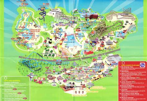 kentucky kingdom map kentucky kingdom 2014 park map