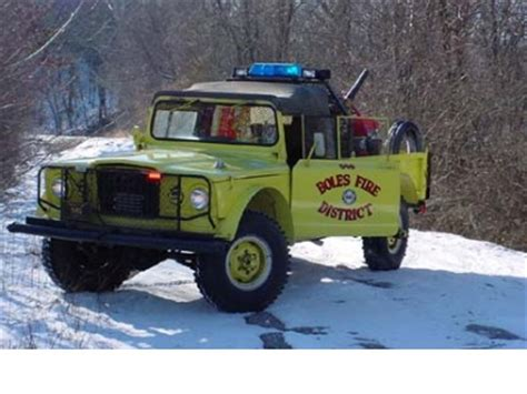 jeep brush truck boles fire protection district mo brush truck 546 1968