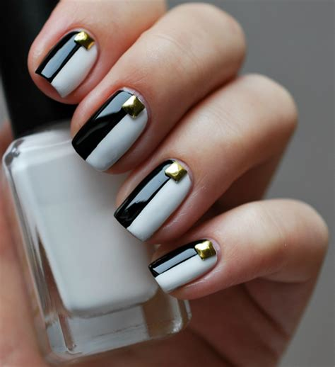 black and white pattern nails 12 beautiful black and white nail art designs
