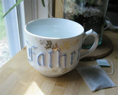 father embossed antique cup zpf germany kates attic