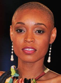 top 50 bold bald and beautiful hairstyles short stacked pat evans black bald and beautiful evans shaved her