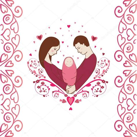 como transformar imagenes a vectores familia feliz con un beb 233 reci 233 n nacido puede ser