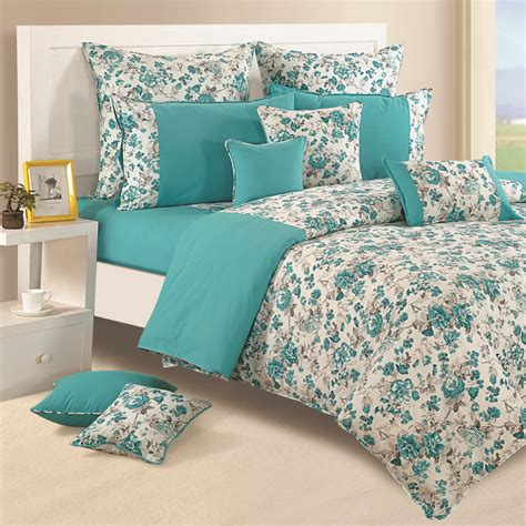 cotton comforter queen 100 cotton twin queen size home decorative floral bedding