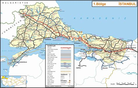 map of istanbul detailed road map of istanbul section of turkey istanbul section of turkey detailed road map
