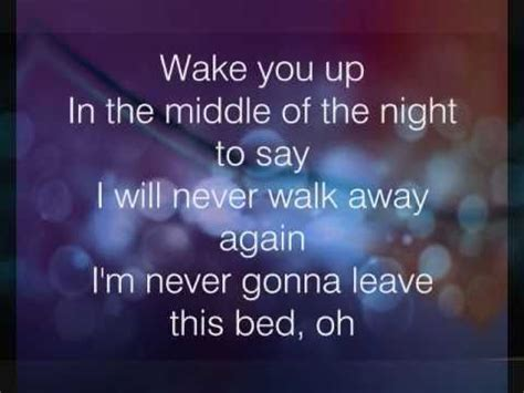 maroon 5 never gonna leave this bed never gonna leave this bed lyrics maroon 5 youtube