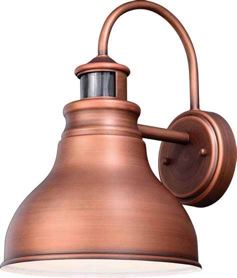 vaxcel t0293 delano dualux brushed copper outdoor motion
