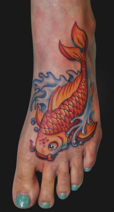 cute foot tattoos fish tattoos designs ideas and meaning tattoos for you