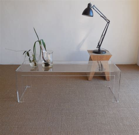 Kartell Invisible Side Coffee Table Design T Yoshioka Kartell Coffee Table