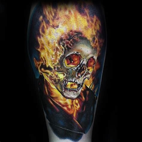 ghost rider tattoo designs 50 ghost rider designs for supernatural