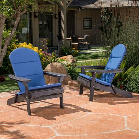 noble house malibu navy blue outdoor adirondack chair