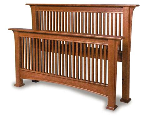 mission style king size headboard millcreek mission amish bed amish bedroom furniture