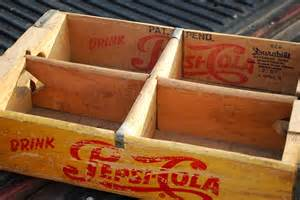vintage 1957 pepsi cola truck crate by aglimpsefromthepast