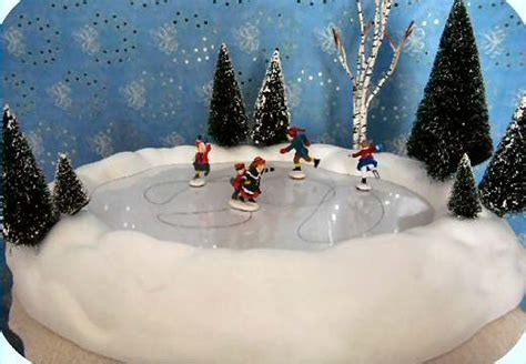 28 best animated skating pond department 56 village