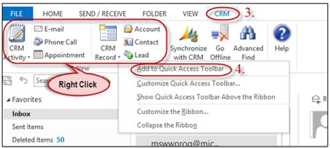 microsoft dynamics crm 2013 outlook integration part 2 working with crm for outlook the crm book