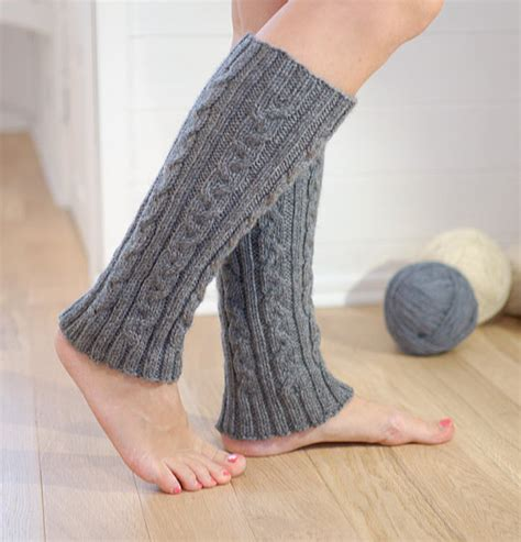leg warmers cable knit cable knit wool leg warmers gray knit leg warmers