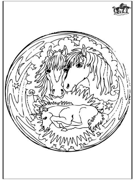 unicorn mandala coloring pages animal mandala horses and baby unicorn