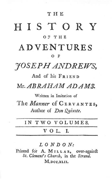 Joseph Andrews - Wikipedia