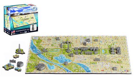 washington dc map jigsaw puzzle 4d mini washington d c 4d puzzle puzzlewarehouse