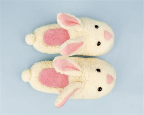 bunny house shoes classic bunny slippers fuzzy bunny slippers adult bunny slippers