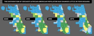 Chicago Segregation Map by Multicultclassics 8492 Chicago Mirrors Madison Avenue