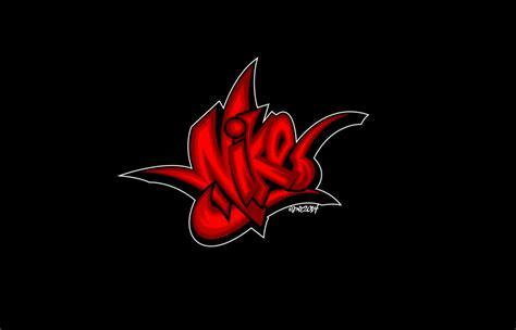 graffiti logo wallpaper nike graffiti logo art by elclon on deviantart
