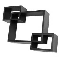 wall mounted cube shelves new black floating wall mounted cube shelves concealed