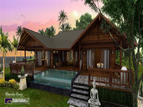 small style house plans tropical style house plans tropical island house plans