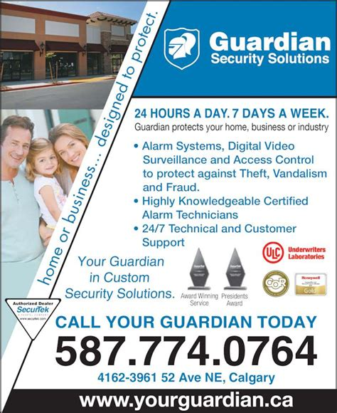 guardian security solutions opening hours 4162 3961 52