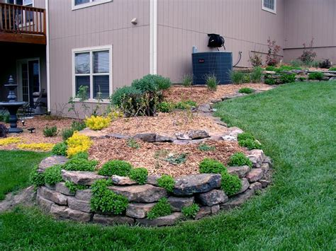 low maintenance landscaping casual cottage
