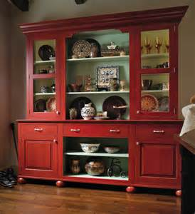 Hutch Armoire by European Country Hutch Wood Mode Custom Cabinetry