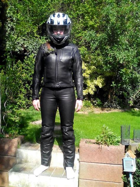 Gebrauchte Motorradbekleidung Damen damen leder kombi gr 246 223 te 36 in erkelenz