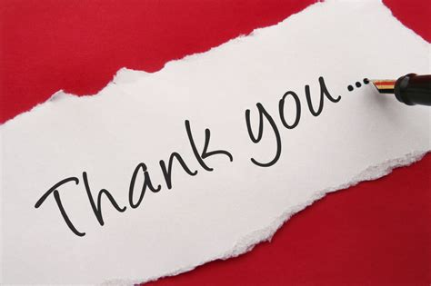 Thank You Letter Background Thank You Note On Background Images Photos Pictures