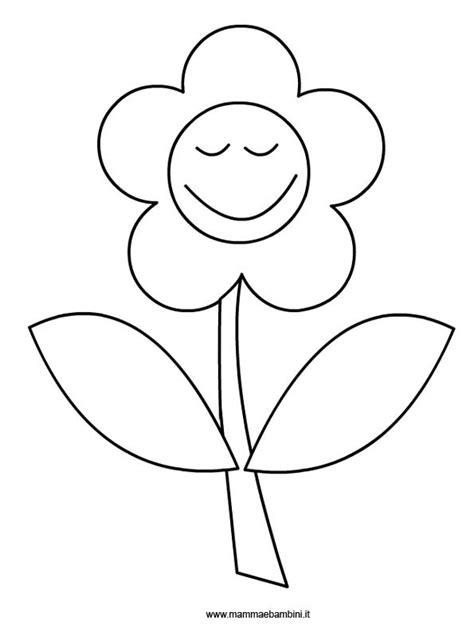 fiore disegno da colorare fiore da colorare mamma e bambini
