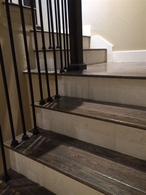 porcelain wood tile stairs google search wood