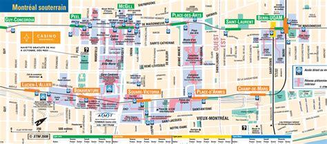 city underground map montreal underground city map