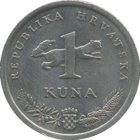 cuna values 1 kuna latin text croatia numista