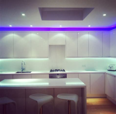 led lights in kitchen led kitchen ceiling lights baby exit com