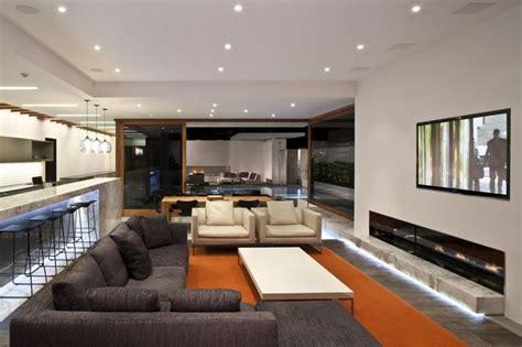 Living Room Bar La Harborview Moderna Residencia Familiar