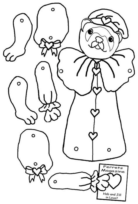 jointed paper doll template 1111 best dolls paper articulated 2 images on