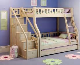 Plans For Loft Bed With Stairs by Hochbett Mit Treppe Tolle Vorschl 228 Ge