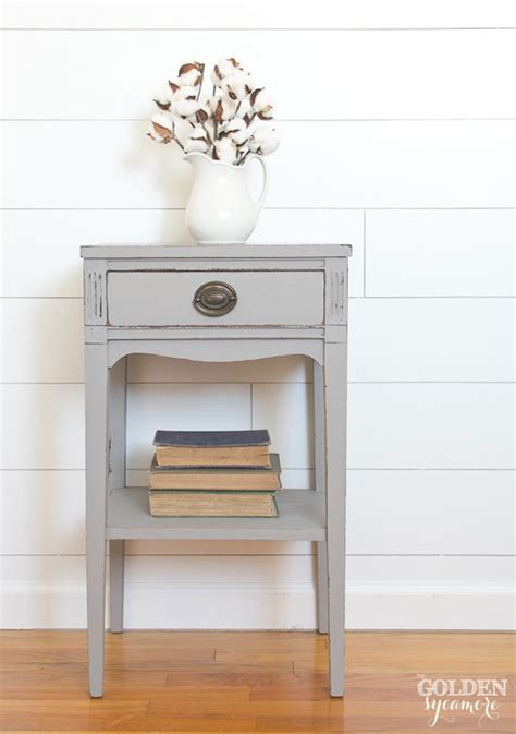 pinterest pictures of yellow end tables with gray the gray end table that almost didn t work out the