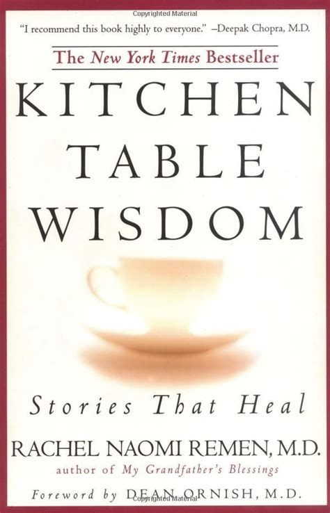 kitchen table wisdom remen there should be a word that means beginn by remen like success