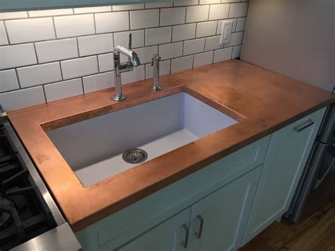 copper countertops the properties of copper