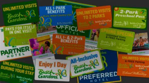 How Much Is Busch Garden Tickets by Busch Gardens Williamsburg 2016 Tickets Passes Bgwfans