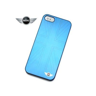 Mini Cooper Hardcase For Iphone 5 mini cooper iphone 5 5s blue mirror effect by